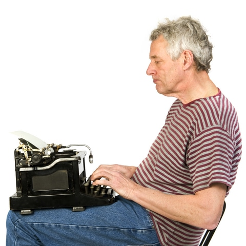 This fellow is writing his memoir the hard way. The easier way is to hire a memoir ghostwriter.